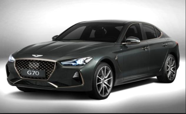 2019 Hyundai G80 exterior