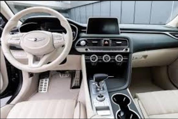 2019 Hyundai G80 interior