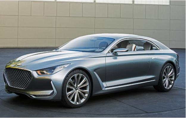 2019 Hyundai Genesis Coupe desing in silver