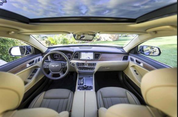 2019 Hyundai Genesis interior