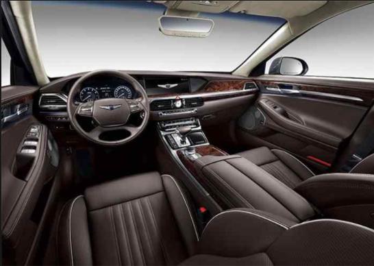 2019 Hyundai Genesis G90 interior