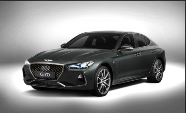 2019 Hyundai Genesis g70 black