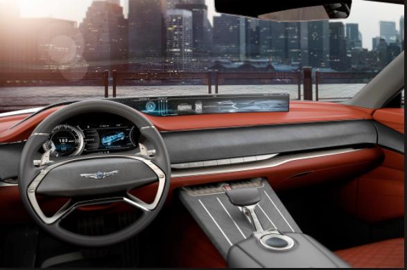 2019 Hyundai Genesis suv interior