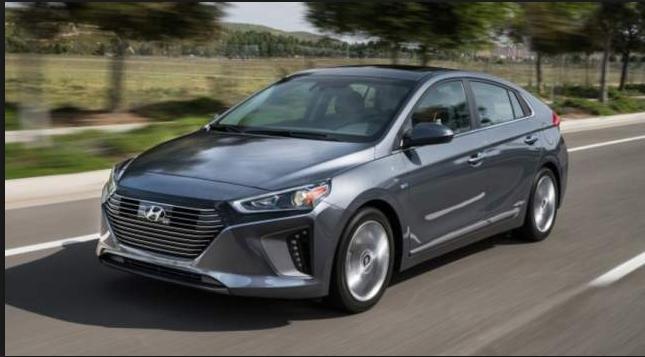 2019 Hyundai Hybrid exterior