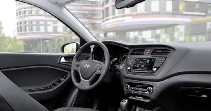 2019 Hyundai I20 interior