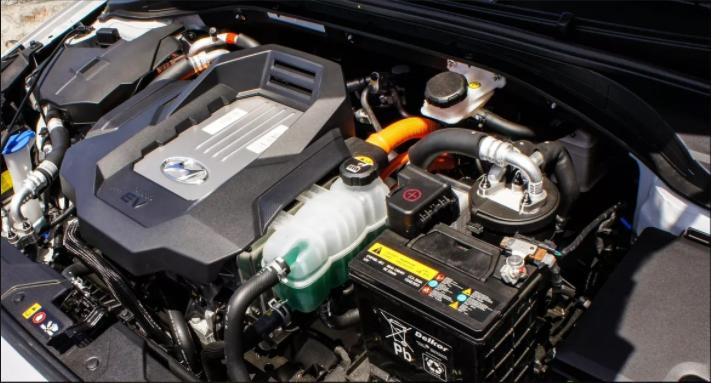 2019 Hyundai Ionic engine