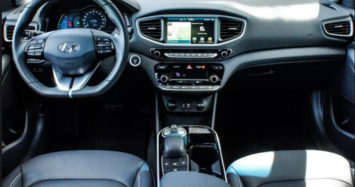 2019 Hyundai Ionic interior