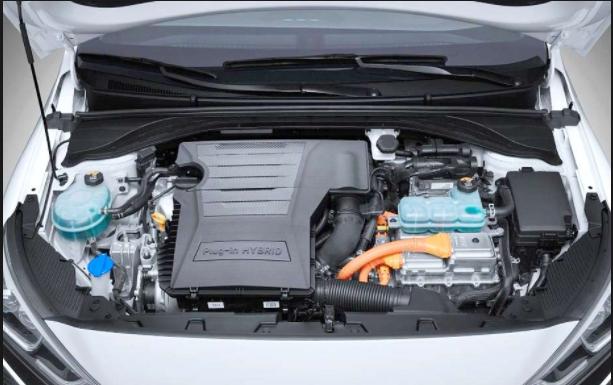2019 Hyundai Ioniq engine