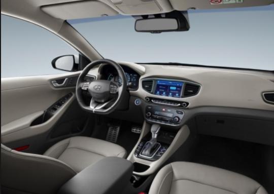 2019 Hyundai Ioniq internal