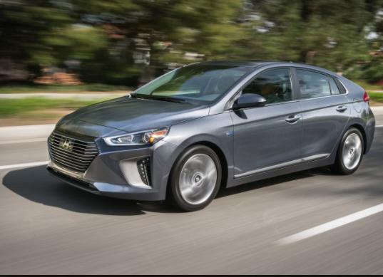 2019 Hyundai Ioniq silver
