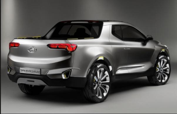 2019 Hyundai Santa Cruz, Pickup exterior