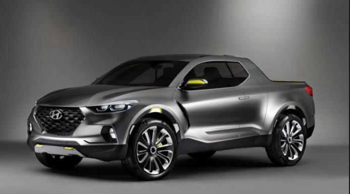 2019 Hyundai Santa Cruz, Pickup silver