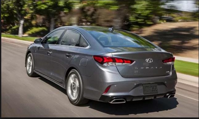 2019 Hyundai Sonata Eco exterior