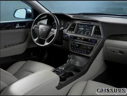 2019 Hyundai Sonata hybrid interior