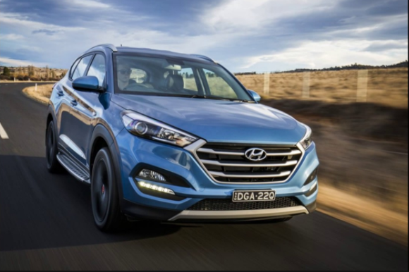 2019 Hyundai Tucso exterior