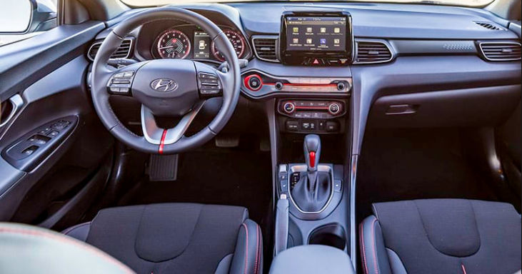 2019 Hyundai Veloster Turbo Specs interior