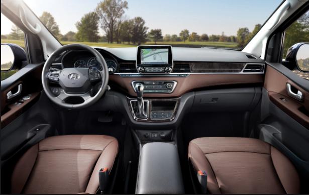 2019 Hyundai h1 interior