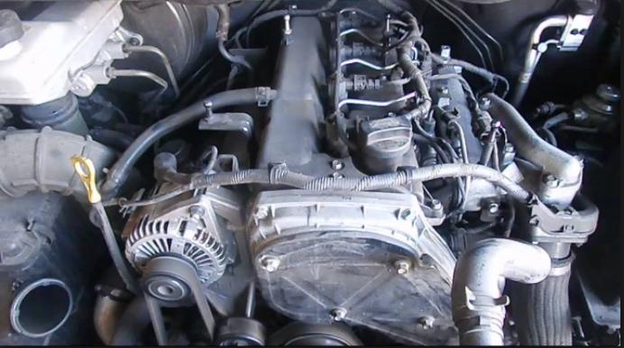 2019 Hyundai iload engine