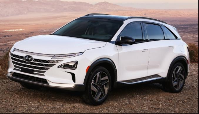 2019 Hyundai nexo external