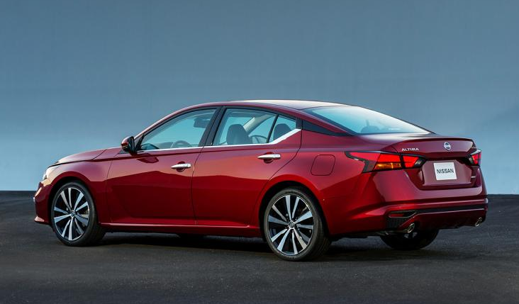 2019 Nissan Altima Rear View