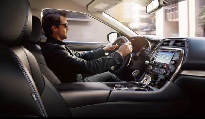 2019 Nissan Maxima Seats and Navigation System