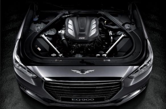 2019 hyundai genesis g70 engine