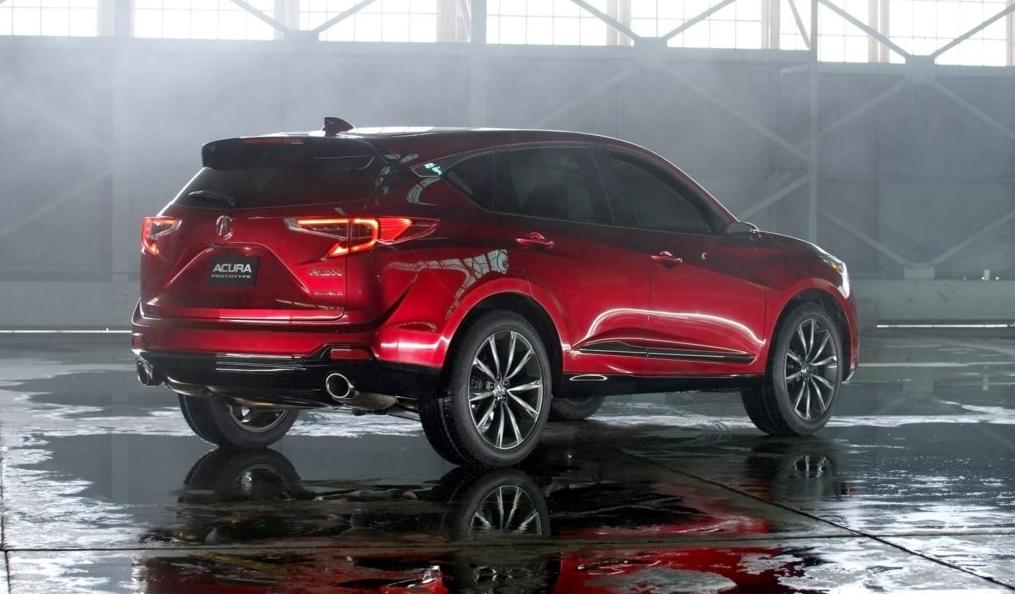 2019 Acura Legend Exterior
