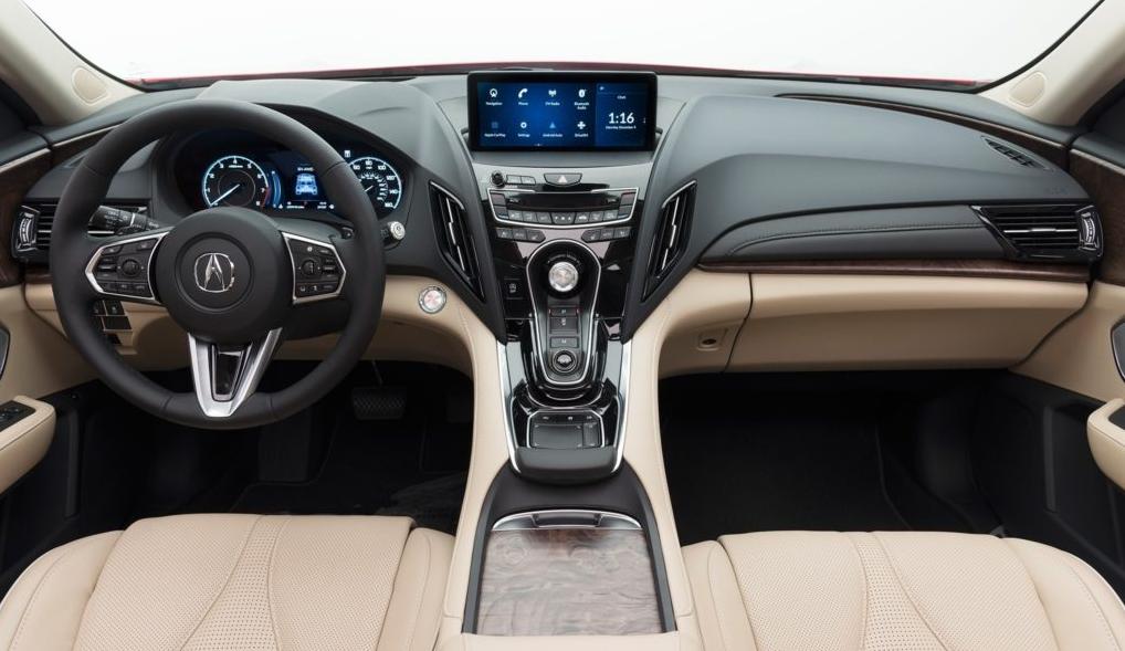 2019 Acura Legend Interior