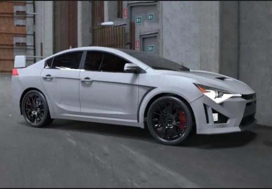 2019 Mitsubishi Evolution exterior