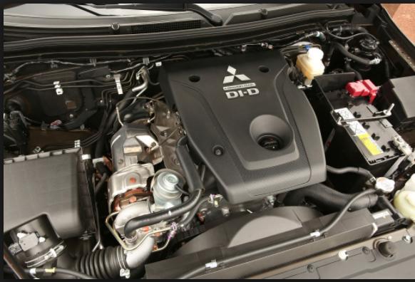 2019 Mitsubishi L200 engine