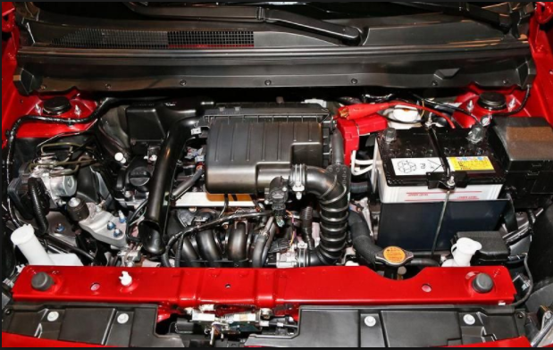 2019 Mitsubishi Mirage engine