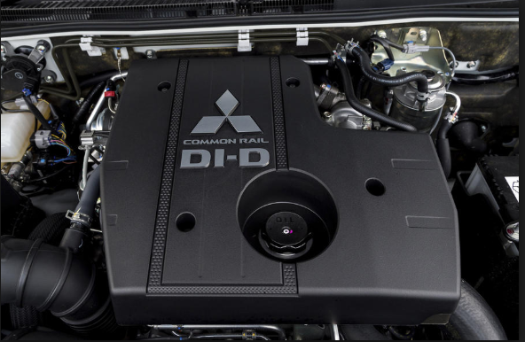 2019 Mitsubishi Shogun engine