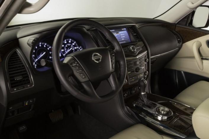 2019 Nissan Armada Dashboard