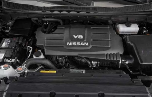 2019 Nissan Armada Engine