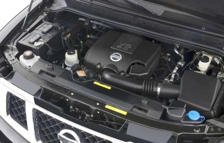 2019 Nissan Armada V6 Engine