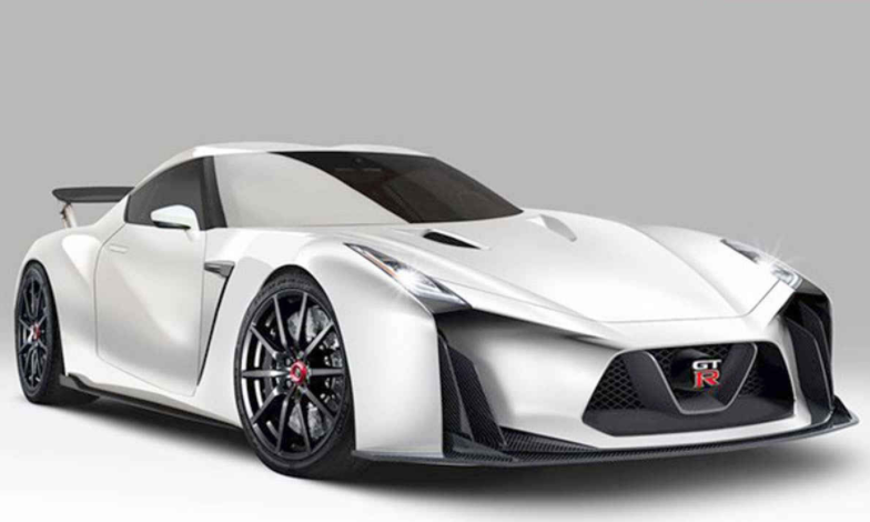 2019 Nissan GT-R Front View