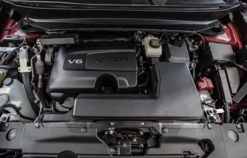 2019 Nissan Pathfinder V6 Engine