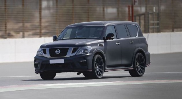 2019 Nissan Patrol Redesign