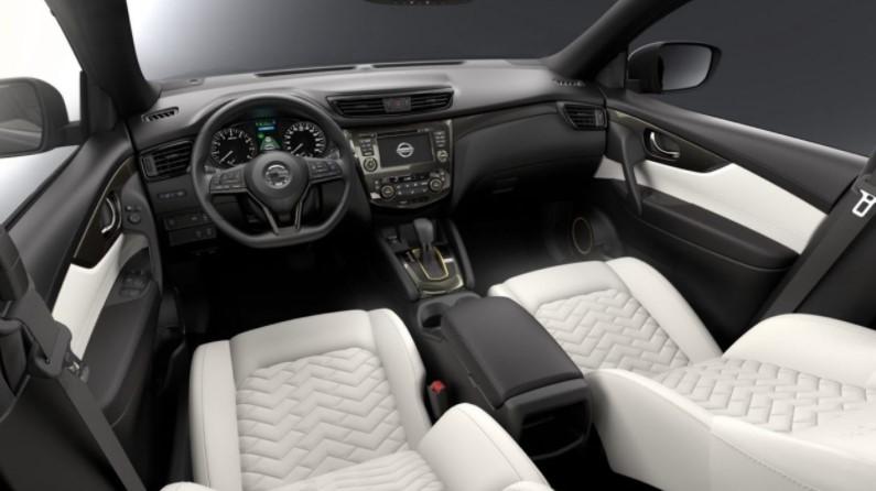 2019 Nissan Qashqai Dashboard