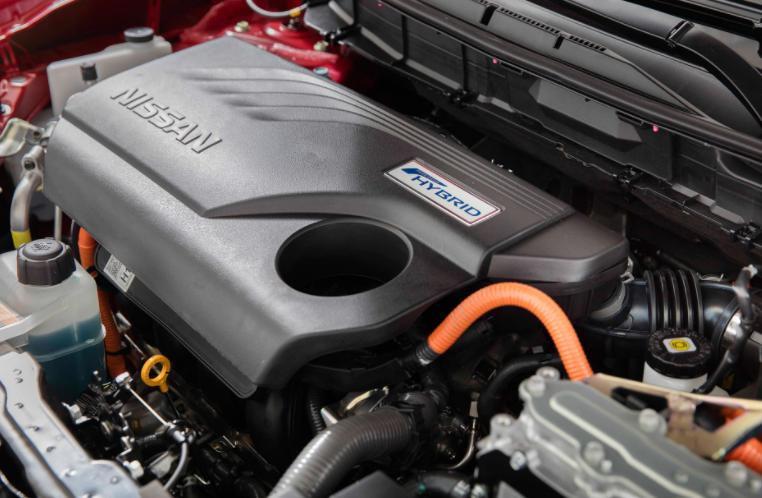 2019 Nissan Rogue Engine