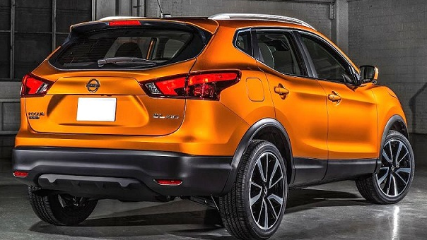 2019 Nissan Rogue Rear View