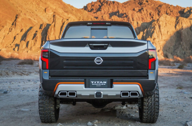 2019 Nissan Titan Changes