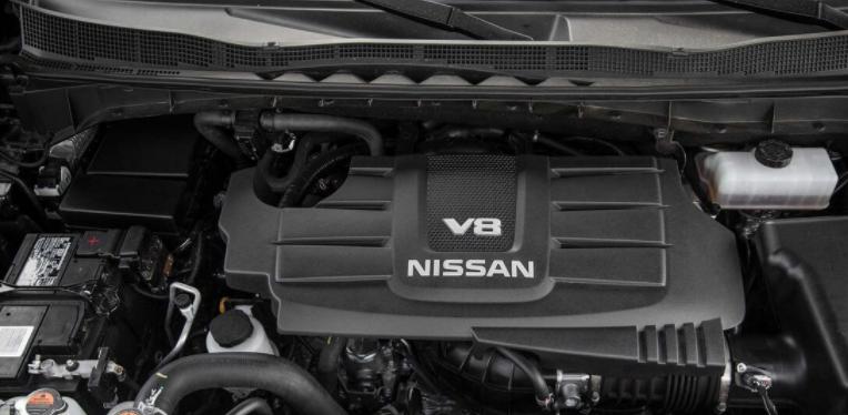 2019 Nissan Titan V8 Engine