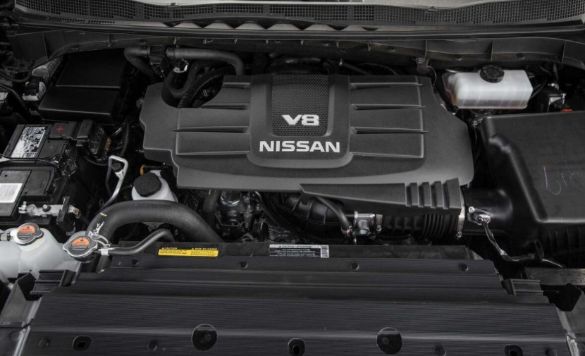 2019 Nissan Titan Warrior Engine