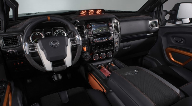 2019 Nissan Titan Warrior Interior