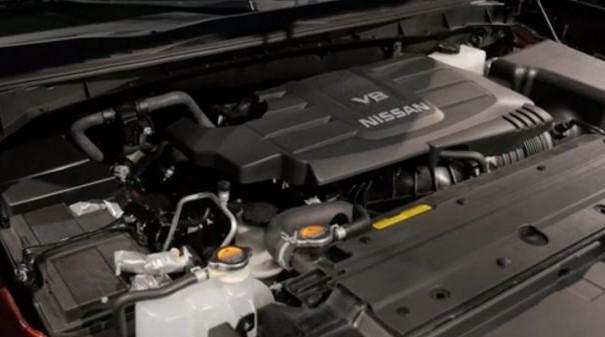 2019 Nissan Titan XD Engine