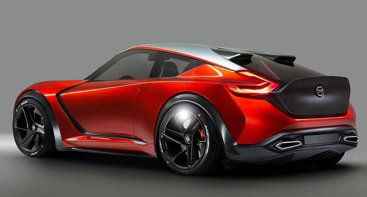 2019 Nissan Z Rear View