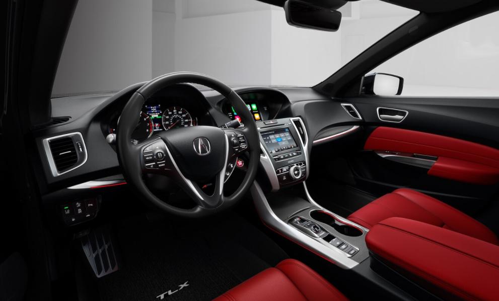 2020 Acura Coupe Interior