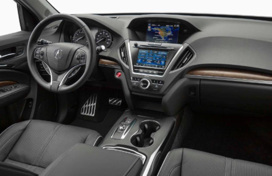 2020 Acura MDX Redesign Interior