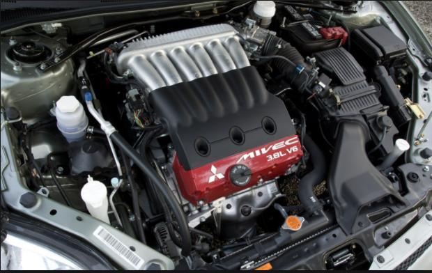 2020 Mitsubishi Eclipse engine